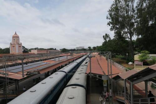 Mysore mit Zug