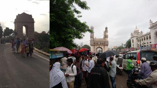 India Gate und Charminar